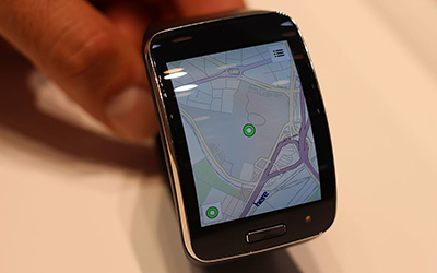 gps-enabled smartwatch
