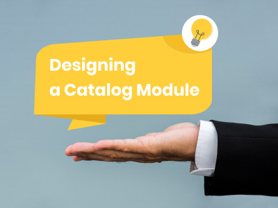 Global Procurement Application: Designing a Catalog Module