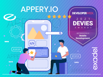 Appery.io by Exadel Recognized in 2021 DEVIES for Mobile Development Platform of the Year