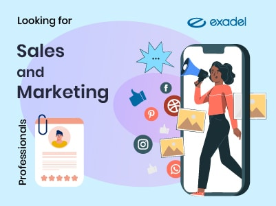 Exadel is Looking for Sales and Marketing Professionals